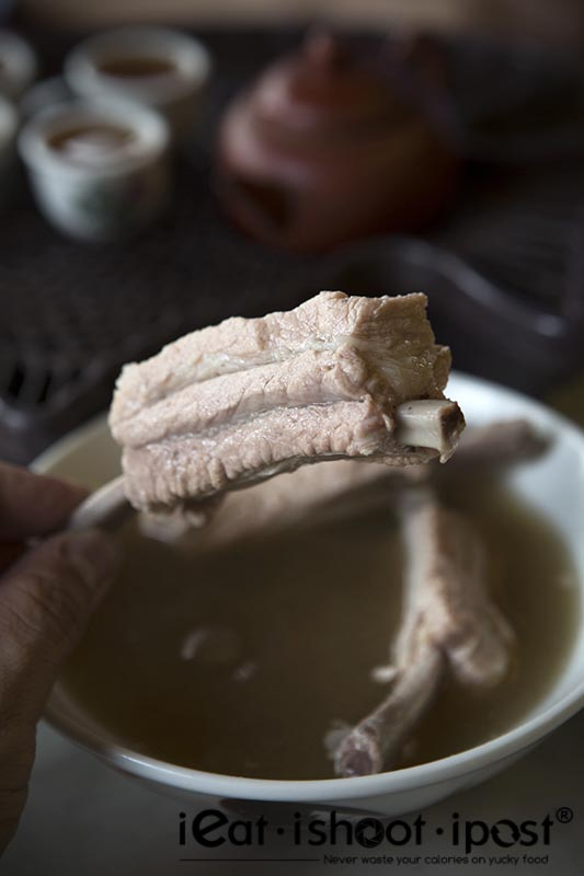 Succulent Long Gu (龙骨) which you can pull off the bone