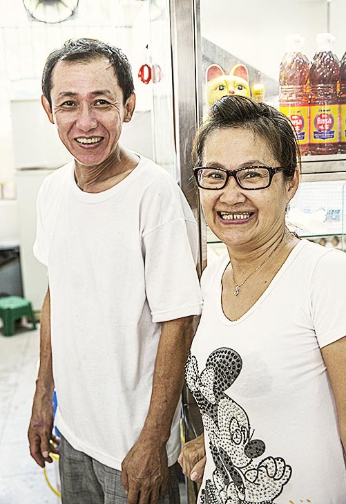 Lee Kim Keat and Ex-Wife Carol
