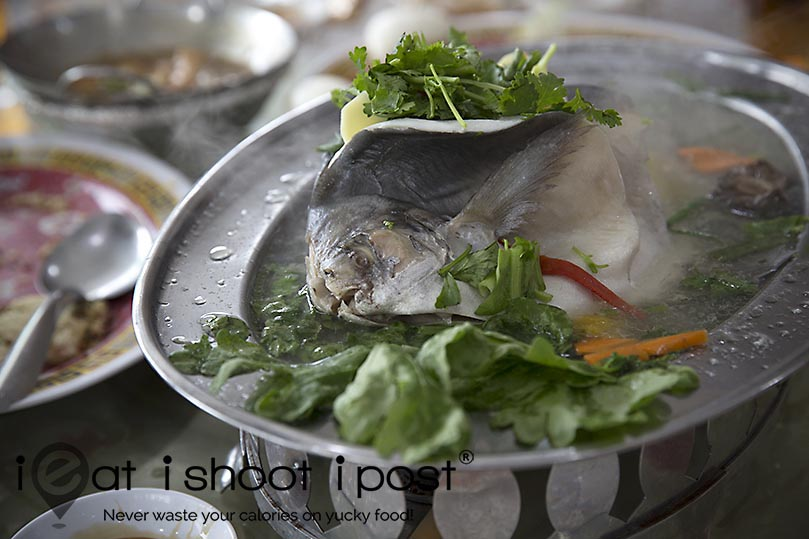 Steamed Pomfret $49