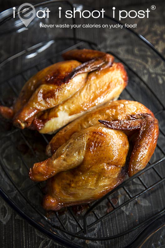 Chinese style Roast Chicken