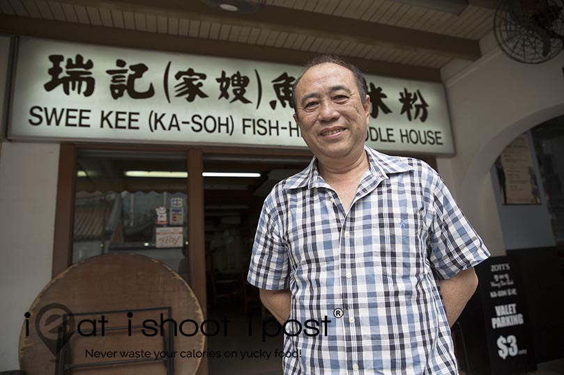 Current owner Mr Tang Tat Cheong