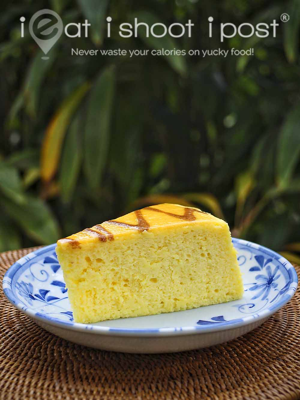 Japanese Durian Cheesecake slice