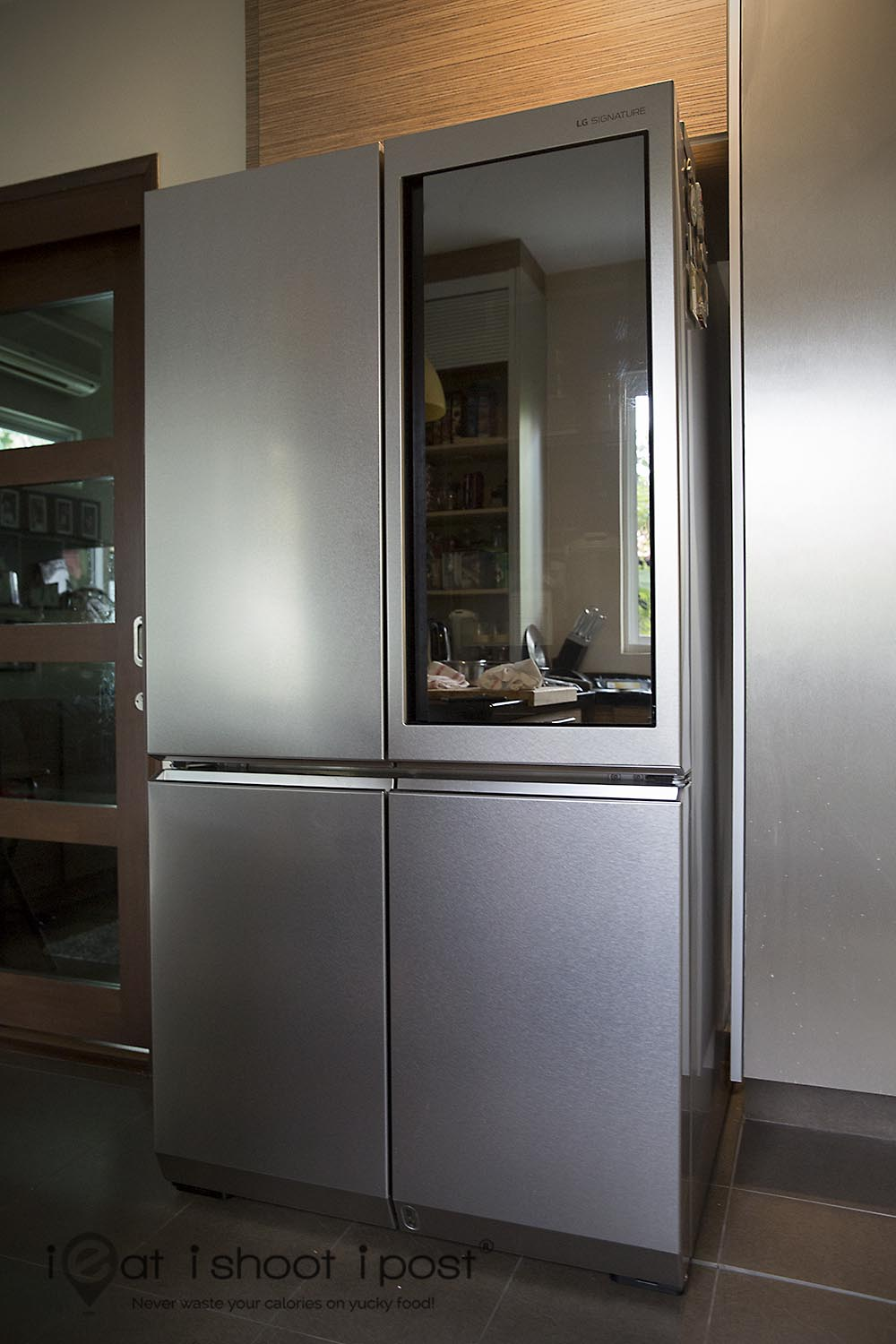 The Time Had Come To Retire My 15 Year Old Fridge And As Fate Would Have  It, I Got Acquainted With LG SIGNATUREu0027s Uber Slick Stainless Steel Fridge  At Their ...