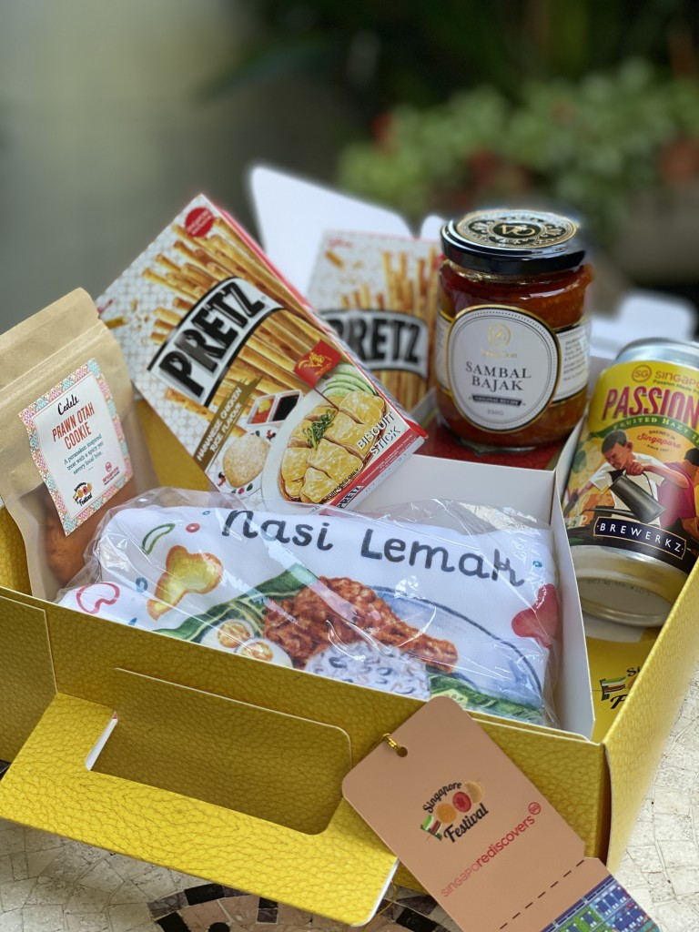 SFF box with exclusive SFF food merchandise