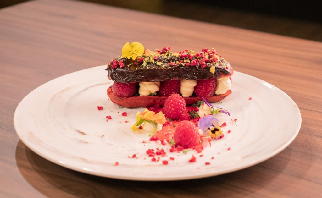 Oon's Red Velvet Eclair (photo courtesy of MediaCorp)